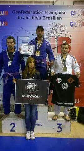 Fehmi 1er Championnat de France de JJB...