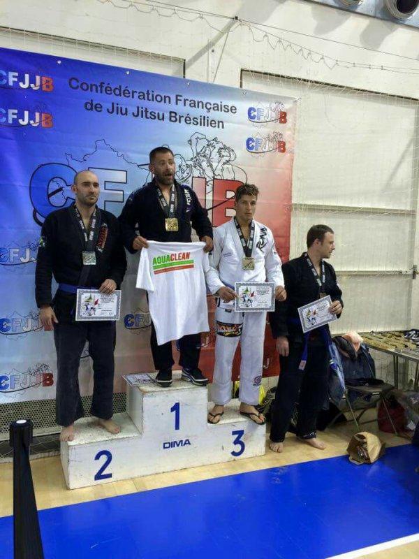 Stéphane 3éme Championnat de France de JJB...