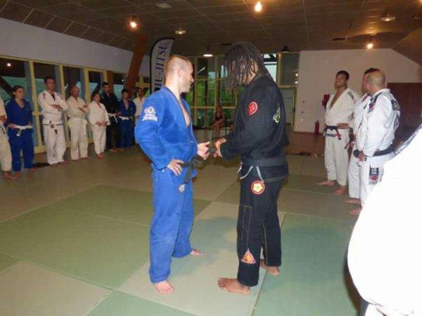 Félicitations à Paulo Martins & Sylvain Pelloux-Prayer pour leur 1er grau (degré) sur leur ceinture noire...