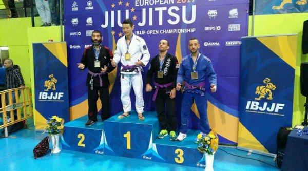 Une 1ere et une 3eme place aux championnats d'europe de jiu jitsu 2017 ...