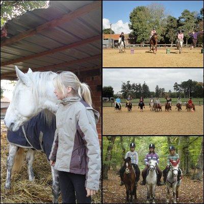 Le Parc Equestre Des Sablons♥. Des amies en or ...