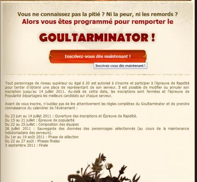 let's go goultarminator III   :)