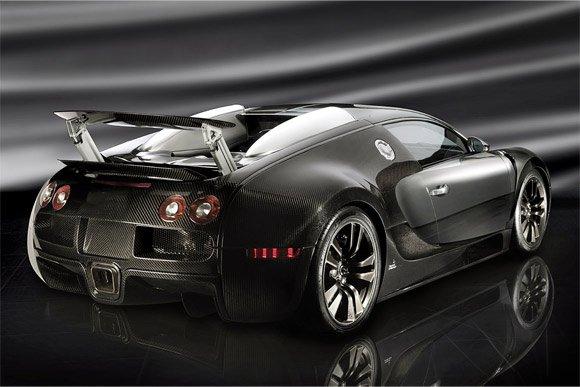 veyron en carbone