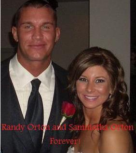LE MARIAGE DE RANDY ET DE SAMANTHA