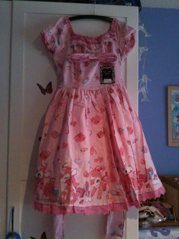 Milky-Chan replika + 1ère robe
