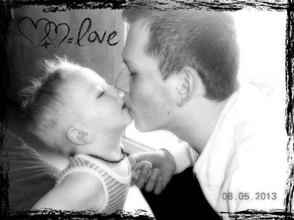 Mon frère et mon fils. Je vous aime
