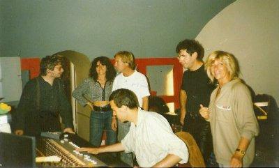 Enregistrement au Studio Ramsès