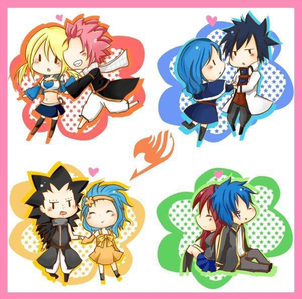 Les couples de Fairy Tail