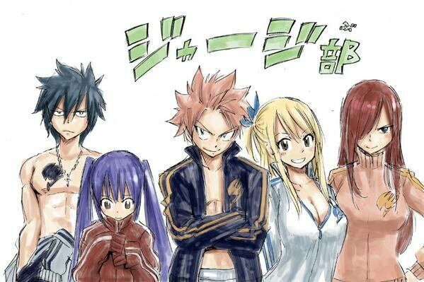 Fiction 6 : Fairy tail