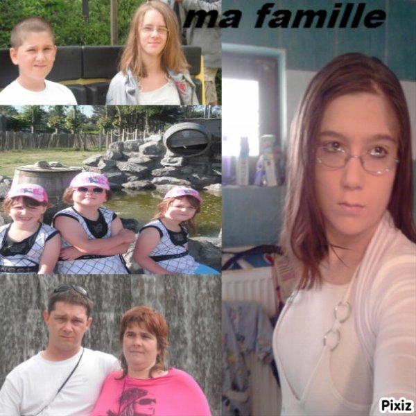 petit montage de famille et moi