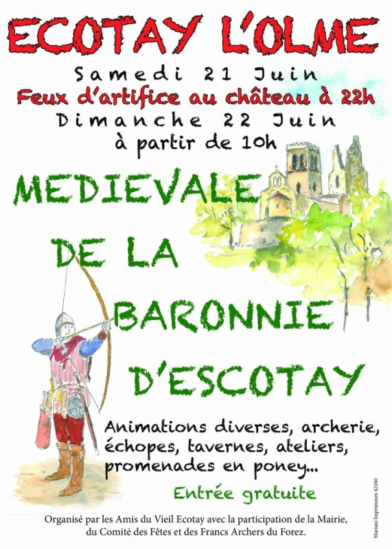 Sortie Médiévale
