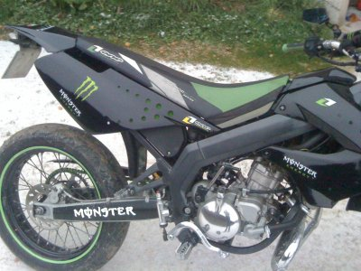 Housse De Selle De Kawasaki KX ONE Industries :D