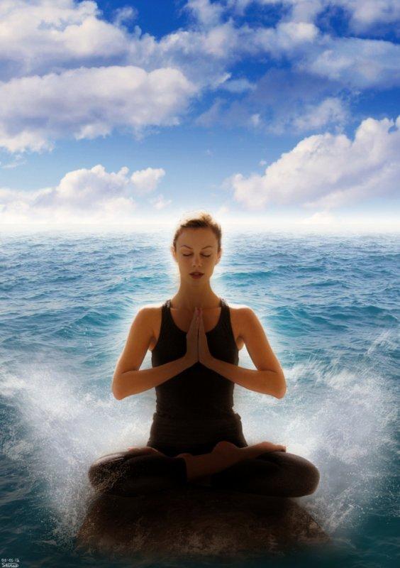 Méditation sur la mer