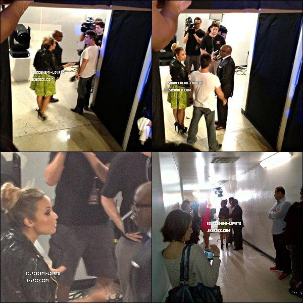. Demi était au Texas, à Austin pour la 2ème journée des auditions de X-Factor.