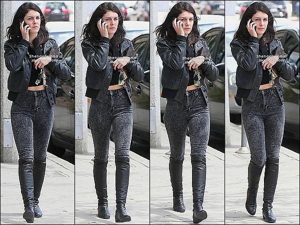 11/04/12 : Shenae était sortie faire du shopping chez Marc Jacobs à Los Angeles.