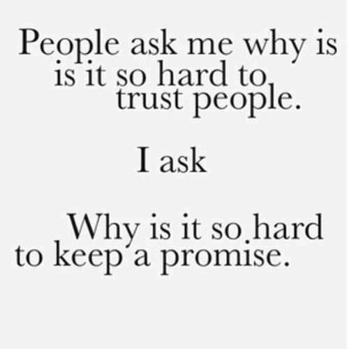 trust people