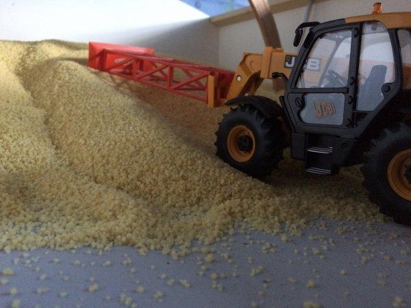 Stockage blé