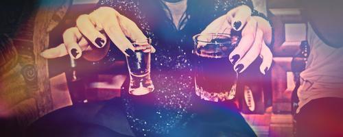 Avec l'alcool j'oublie tout.