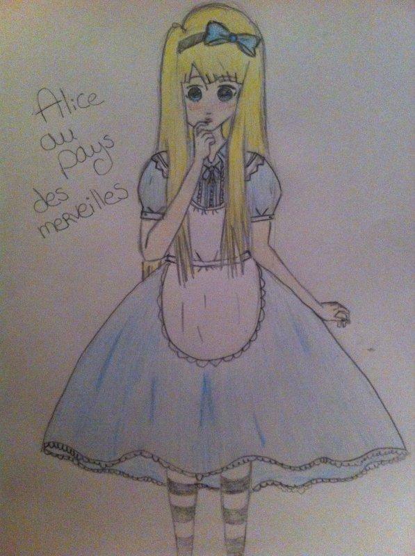 Alice au pays des merveilles ❤️