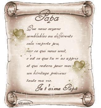 Petit Lettre Pour Mon Papa Nous Tous Simplements
