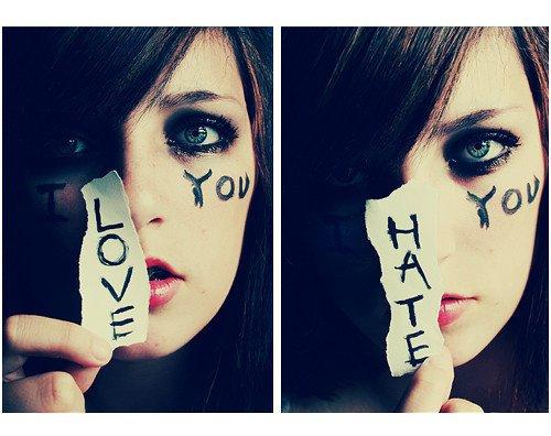 I LOVE... NO, I HATE YOU!!