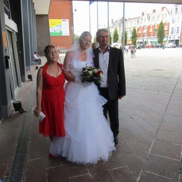son mariage à Émilie 2017