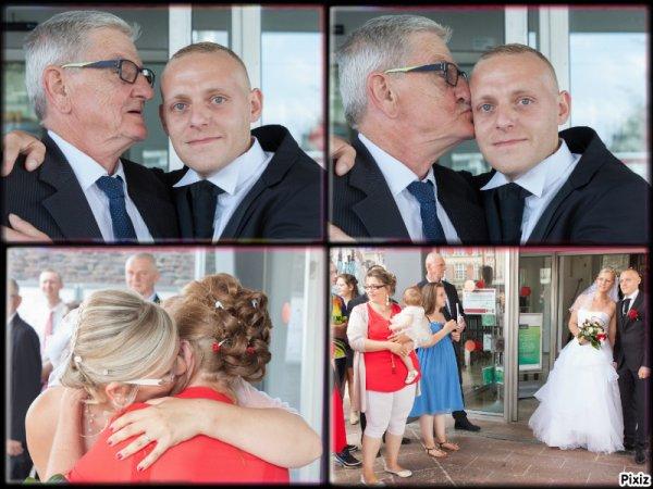 mariage de ma fille   Émilie 2017+n 2je pleure de joie et de bonheur