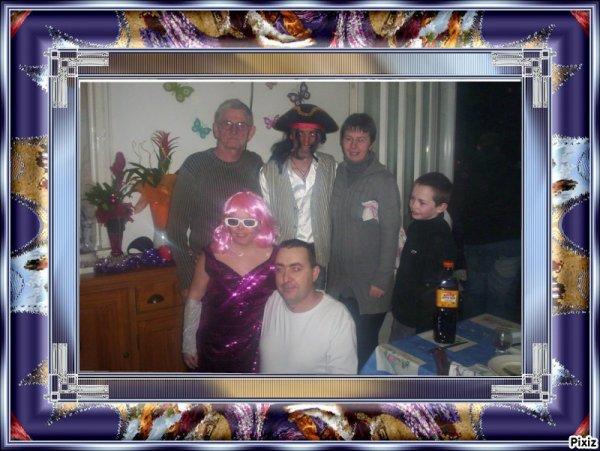 Freddy Hervé Sandrine et son fils et ses amis