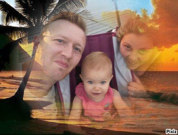 claire Jérôme et sa fille 2018