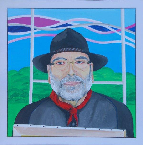 Mon Ami peintre GARBIXO de NAFARROA   60X60