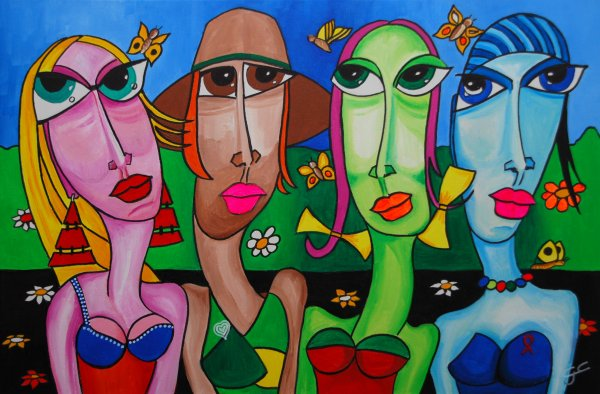 THE SIMPLY GIRLS   90X60