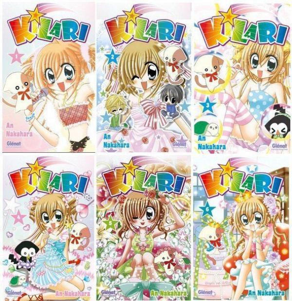 livre manga kilari