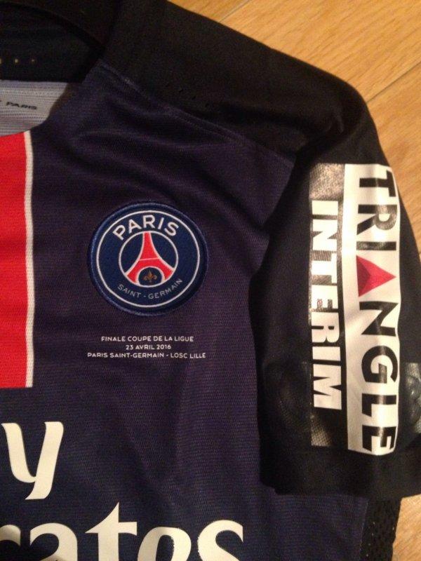 Maillot lucas finale de la coupe de la ligue psg lille saison 2015 2016 blog de manupsg - Coupe de la ligue finale 2015 ...