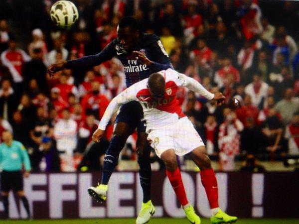 Maillot MATUIDI. Finale de la coupe de la ligue. Monaco/PSG. Saison 2016/2017.