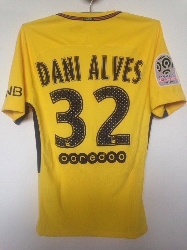 Maillot DANI ALVES. International Champions cup. PSG/JUVENTUS. Saison 2017/2028
