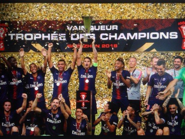Maillot MARQUINHOS. Trophée des champions. PSG/Monaco. Saison 2018/2019.
