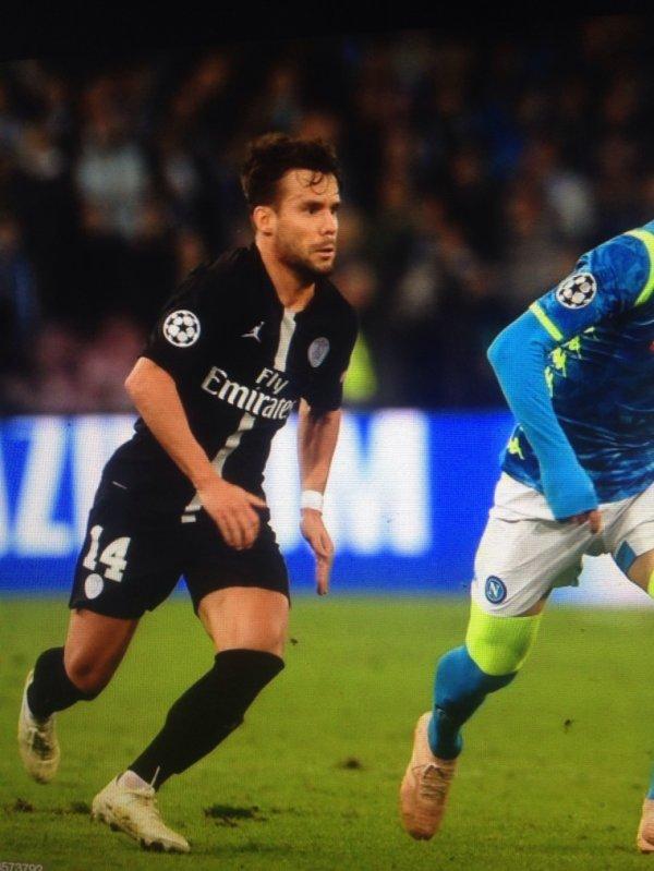 Nouveau! New! Maillot JUAN BERNAT. Ligue des Champions. Naples/PSG. Saison 2018/2019