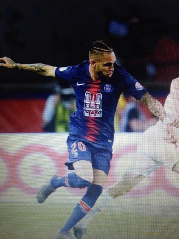 """Maillot KURZAWA """"NOTRE DAME"""". Championnat. PSG/Monaco. Saison 2018/2019."""