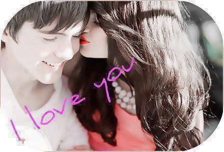 je t'aime mon amoure