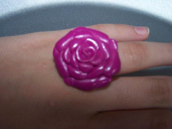 Une petite bague rose !!!