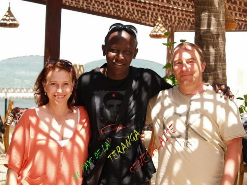 Merci a nos de l'hotel le lamantin beach de Saly