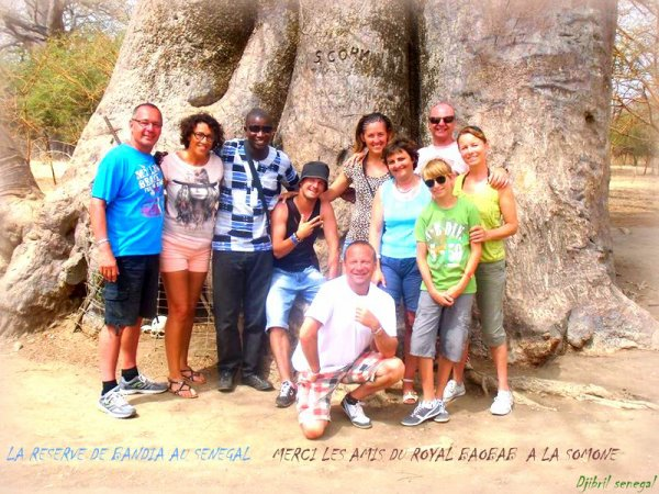 SENEGAL MERCI A NOS AMIS DU ROYAL BAOBAB