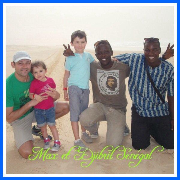 Le Sénégal en famille et en toute sécurité. Merci les amis du royal baobab à la Somone.