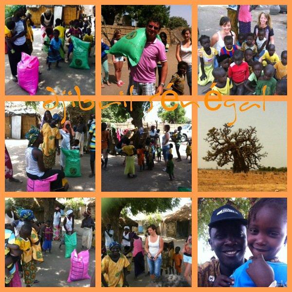 Journée humanitaire merci la famille Éric d'Alsace pour tout ses sacs de riz offert dans les villages et les écoles loins  des circuits touristiques.