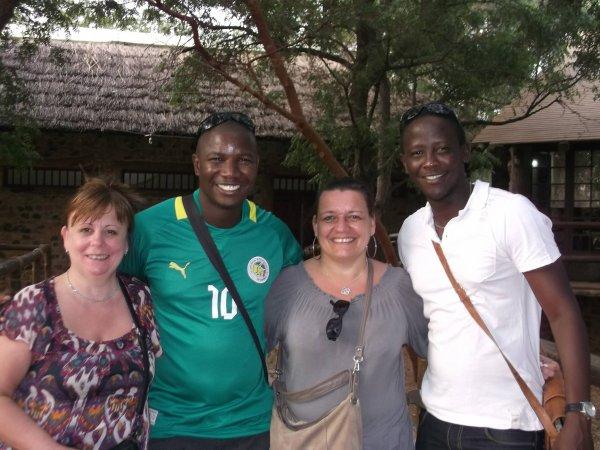 Hotel grazia Maria saly Sénégal merci les amis pour votre confiance