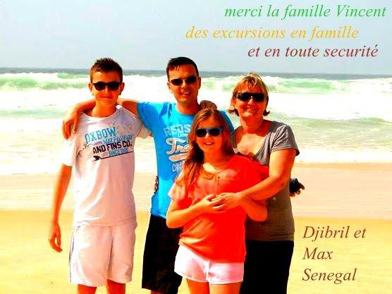 Excursions Domaine de Nianing Sénégal Merci la Famille Vincent
