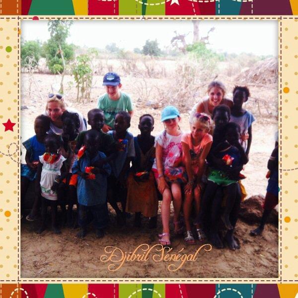 Le Sénégal dans la paix la joie et en toute sécurité avec vos enfants...