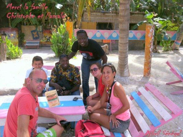 HOTEL NEPTUNE SALY SENEGAL,MERCI A LA FAMILLE  PHILIPPE ET PASCALE