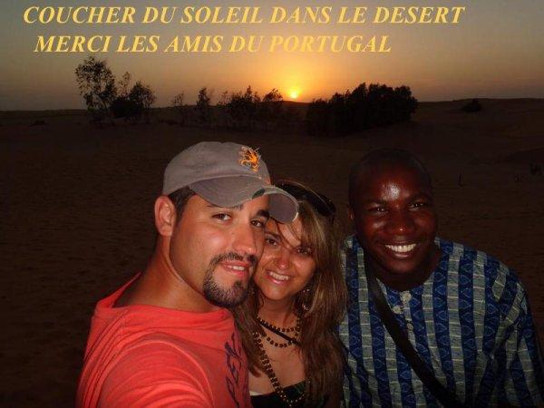 DESERT DE LOMPOUL SENEGAL, LE SENEGAL EN BEAUTE