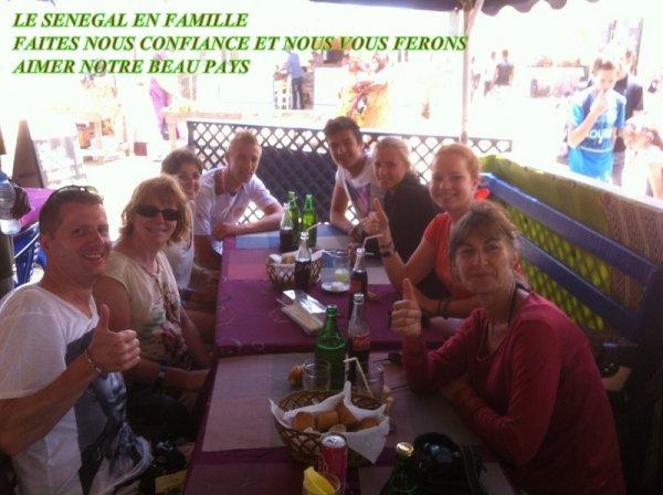 premium Royal boabab Somone Sénégal, Bon retour les amis